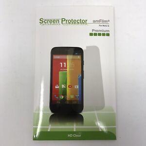 Motorola Moto G - 3 HD Clear QScreen Protectors - Sealed NIB - amFilm