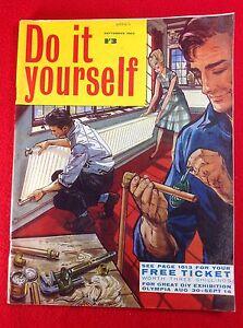 Vintage : DO IT YOURSELF Magazine : September 1963