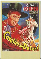 Carte Postale Affiche de Film - LE CAVALIER DU DESERT - Col Télérama Réf:26