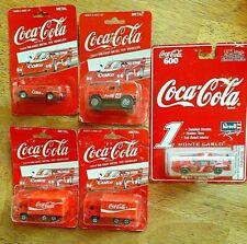 LOT OF 5  COCA-COLA MONTE CARLO,pickup.corvet,toy truck. ..