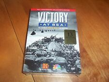 VICTORY AT SEA History Channel NBC Remastered Complete Series 4 DVD SET NEW