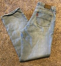 Fashion Style Womens Ralph Lauren Polo Relaxed Boot Cut Cotton Denim Jeans Size 10 Soft And Light 31 X 32