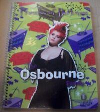 Osbourne Family - Princess of Darkness - Original new Notebook 2002 - Ozzy Kelly