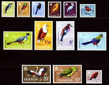 Uganda 1965 ** Mi.87/100 Tiere Animals Vögel Birds Adler Eagles  [sq2842]
