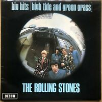 ROLLING STONES BIG HITS 1970 UK DECCA REISSUE  VINYL LP TXS.101 + POSTER