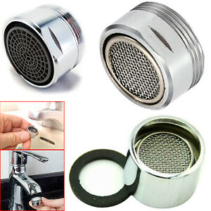 Tap Aerator Faucet Water Saving Kitchen Male Female Nozzle End Diffuser Filter