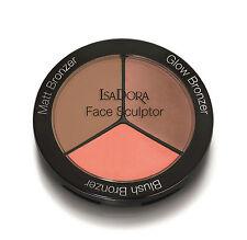 IsaDora Face Sculptor Palette - Blush Bronzer - Matt Bronzer - Glow Bronzer -New