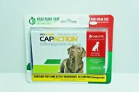PetAction CapAction Dogs Over 25lbs Flea Treat (Compare to Capstar) 6ct EXP 2021