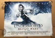 Underworld Blood Wars original UK Quad Poster (2016) Double sided - VG