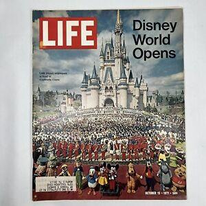 LIFE Magazine October 15 1971 Disney World Opens