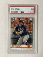 PETE ALONSO 2019 Topps Series 1 ROOKIE RC #475! PSA MINT 9! CHECK MY ITEMS!