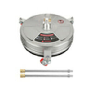 """High Pressure Surface Cleaner Stainless Steel 4000 PSI 2Extension Wand House1/4"""""""