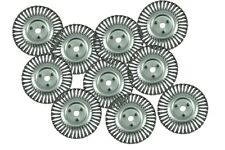 """Case of 10 8"""" Wire Wheel Brush Asphalt Crack Clean Fits Billy Goat Free Air Ship"""