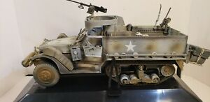 2004 21st CENTURY THE ULTIMATE SOLDIER  M3A3 HALFTRACK 1:18 SCALE ORIGINAL BOX