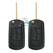 2x 3btn remote key fob entry shell case for Rand Rover Ranger Rover Discovery