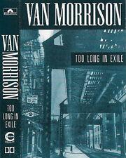 Van Morrison  Too Long In Exile CASSETTE ALBUM BLUES ROCK