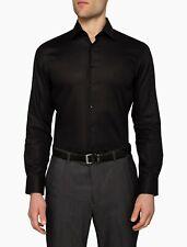 Calvin Klein CK Men Business Work Shirt Slim Fit Casual Formal Size 38 RRP$89.95