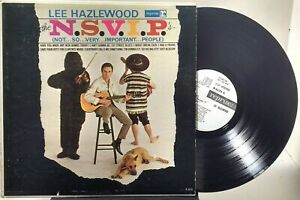 Lee Hazlewood - The N.S.V.I.P.'s -REPRISE R-6133 - WHITE LABEL PROMO