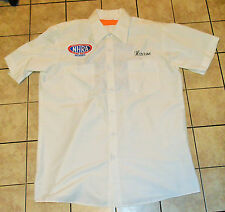 Vtg NHRA Championship Pit Crew Race Worn Used Shirt Retro