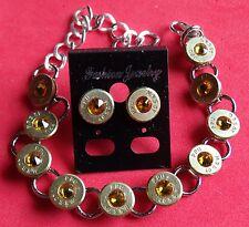 Plink Jewelry Set Earrings Bracelet 40 Cal Topaz Swarovski Crystal New Unused