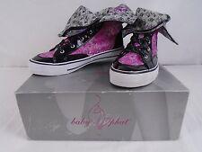 Baby Phat Logo Babe Foil Sneakers Multi Size 6.5 Item# BA94661 16F