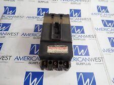 Westinghouse F3015S F3015 3 pole 15 amp 600 volt Ab De Ion Circuit Breaker