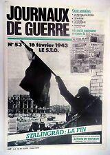 Journaux de Guerre n°53- 1943 - Le S.T.O.