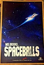 Mel Brooks SpaceBalls Space Balls Signed Autographed 12x18 Photo Movie Poster