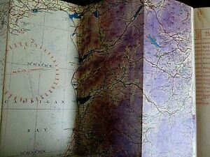 1938 RAF navigation  map -England North Wales.