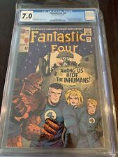 CGC 7.0 FANTASTIC FOUR #45 OFF-WHITE PAGES 1ST APPEARANCE OF THE INHUMANS