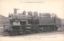 CPA THEME TRAIN LOCOMOTIVES FRANCAISES EST MACHINE N°33927