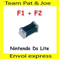 Lot 2 Fusibles F1 F2 pour carte mère DS Lite Neuf de France