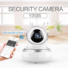 1080P HD IP Kamera CCTV WIFI Wireless Netzwerk Webcam IR Nachtsicht + Mikrofon