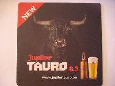 """5"""" Big Beer Coaster ~*~ Brasserie Piedboeuf JUPILER Bier ~ BELGIUM >< Bull Steer"""
