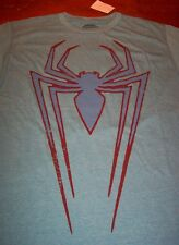 VINTAGE STYLE  ULTIMATE SPIDER-MAN SYMBOL T-Shirt MEDIUM NEW W/ TAG THE AMAZING