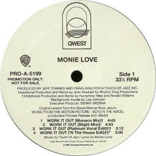 Monie Love ‎– Work It Out Original US Promo Vinyl 12""