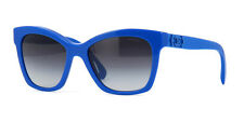 Chanel Cat Eye Pantos Sunglasses 5313 1504/S6 Blue Frame Italy New Authentic