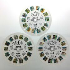 Lot of 3 Minnie N Me Walt Disney Company 3D View Master Slides Stereo Reels Q664