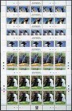 Falkland 2010 Pinguine Penguins Vögel Birds 1118-1123 Kleinbogen Postfrisch MNH