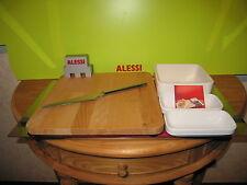 ALESSI *NEW* Set à fromages complet P8SET2 Sargiani