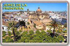 JEREZ DE LA FRONTERA ANDALUCIA SPAIN FRIDGE MAGNET SOUVENIR IMAN NEVERA
