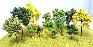 Wire Model Trees for Model Making - 3-14cm High - Railway Architecture Warhammer