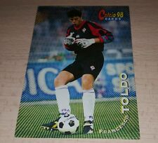 CARD CALCIATORI PANINI 98 FIORENTINA TOLDO CALCIO FOOTBALL SOCCER ALBUM