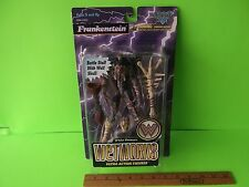 "Wetworks Frankenstein 7""in Figure Includes Battle Staff with wolf Skull  1996"