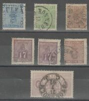 Sweden 1865-1881 selection of Used stamps, mixed condition