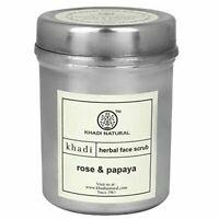 Khadi Natural Rose & Papaya Face Scrub herbal 50gm