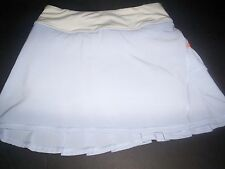 Lululemon Skirt Skort Run Speed Pace size 4 Periwinkle and Orange COOL BREEZE