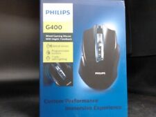 Philips G400 Wired Gaming Mouse w/ Haptic Feedback