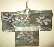 Wall Pocket Hanging Japanese Kimono Shaped Letter Holder Organizer