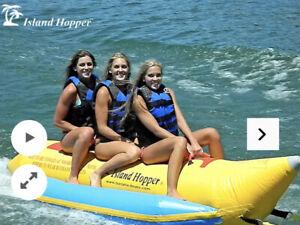 The Island Hopper Banana Boat Heavy Recreational NEW AND FREE SHIP